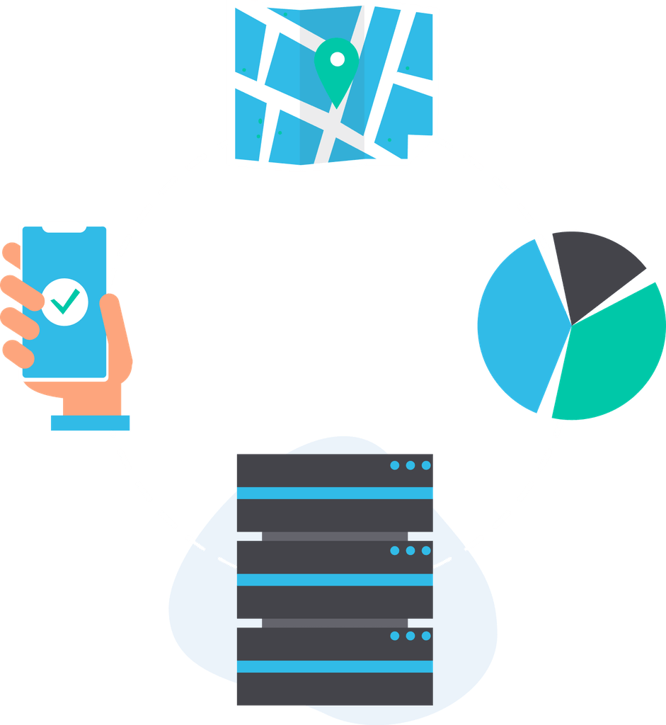 Geo-location and offline data collection