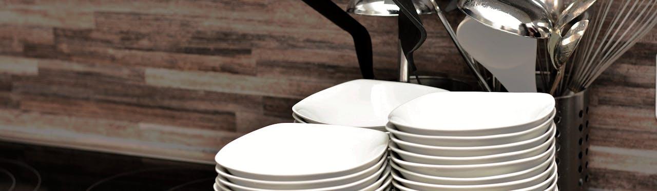 clean soup bowls